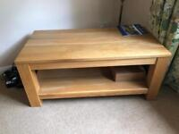 Oak wood - Tv stand or coffee table
