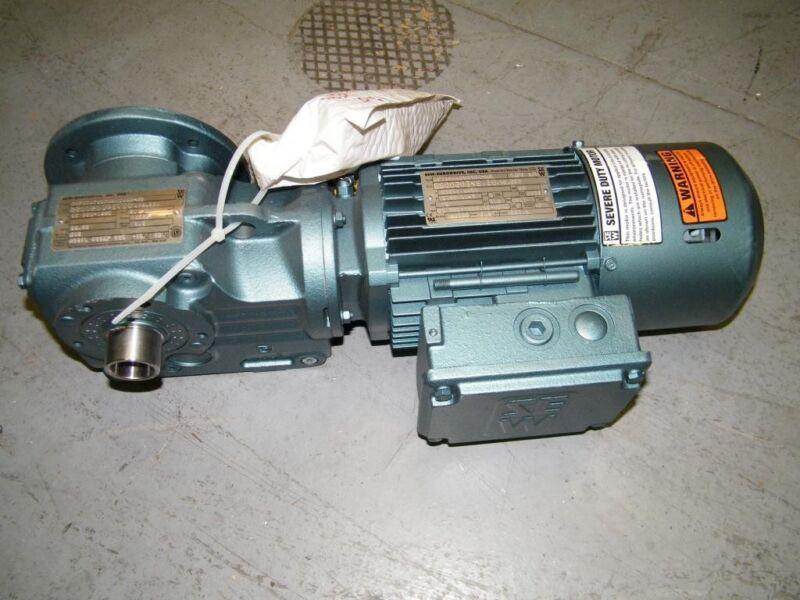 sew eurodrive .75hp motor DFT80K4BMG1HR-KS gearbox new drive transmission gear