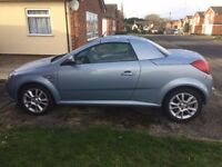 2005 Vauxhall Tigra 1.4 , mot, good runner, working folding roof