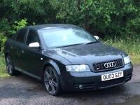 2003 Audi S4 4.2 V8 (390bhp) May Px Swap
