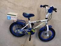 Boys apollo police bike. 14 inch wheels