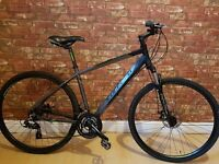 2015 Carrera Crossfire 2 Hybrid Bike, Excellent Condition. Alloy Frame with Disc Brakes