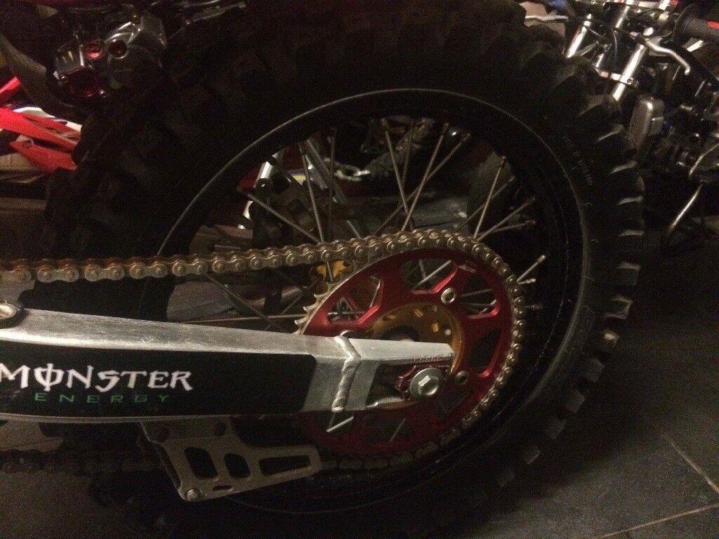 CRF 150 wheels