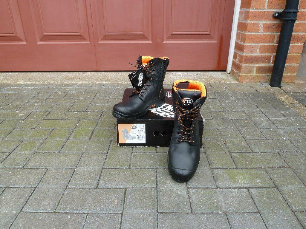 Brand new V12 - VR620 Avenger Black High Leg Zip Side Boot (Safety  Footwear) | in Prestbury, Cheshire | Gumtree