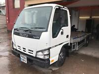 Isuzu nkr recovery truck new shape 3.0 td twin wheel 06 reg brand new body