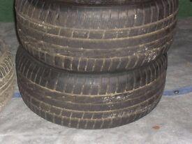2 goodyear ultra grip winter tyres 225/50r16