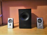 Sony Speakers with Subwoofer 20W