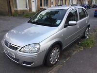 Vauxhall corsa 1.4 Twinport 2005 (55) in silver very good condition