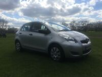 59 reg 1.0 litre TOYOTA YARIS with coordinated grey interior service history 1 lady owner from new