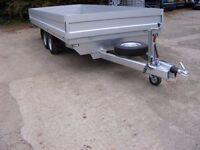 CAR TRAILER up to 2700Kg 5m long BOX TRAILER
