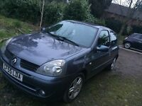 Renault Clio 1.2 Campus Sport - Very Low Mileage, Ideal First Car - £1,500