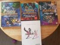 Game Guides (Pokemon, Final Fantasy)