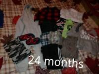 Baby boy clothes bundle 24 months