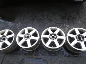 4 VW 5stud alloys for sale