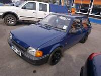 Ford escort estate 1.3 rs turbo alloy wheels 92k loads history