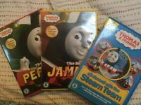 Thomas The Tank Engine, James and Percy DVDs excellent condition