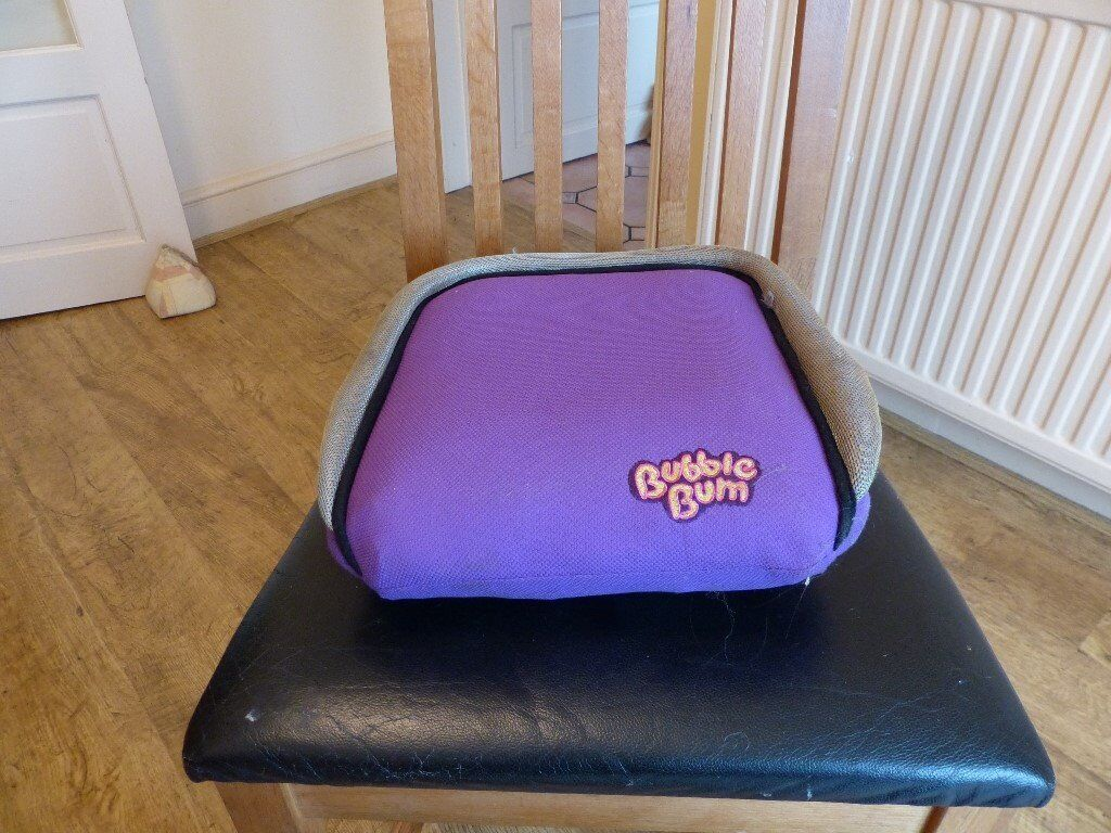 Bubblebum Booster Car Seats x 2