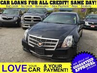 2011 Cadillac CTS 3.0L * LEATHER * PANO ROOF * AWD * HTD PWR SEA