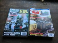 Garden rail magazines plus others 50 in total