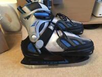 SFR boys adjustable size ice skates