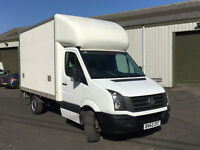 VW CRAFTER LUTON-TAIL LIFT,62REG-2012,136K MILES,1 OWNER,FULL VW HISTORY,NEW MOT,NO VAT