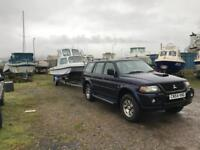 Boat and 4x4 package