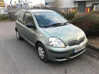 2004 Toyotta Yaris, 1.0, 48k only, long MOT.