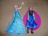 Disney Frozen Anna and Elsa Dolls