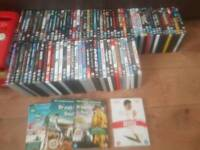 Over 90 dvds
