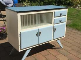 beautiful 1954 Formica top table and chairs and sideboard