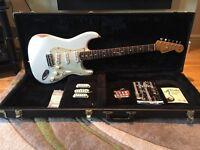 Fender Stratocaster road worn model in Olympic White