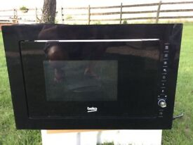 Integrated microwave oven - brand new and unused