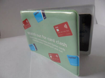 2019 Oyster card  Credit Debit card clash cover London Oyster Card Holder