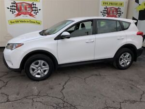 2014 Toyota RAV4 LE, Automatic, Bluetooth, AWD, Only 64,000km