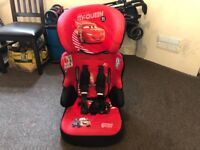 Lightning McQueen Car Seat