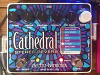 Electro Harmonix Cathedral Stereo Reverb Holy Grail Guitar Effect Pedal