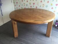 Creations round dining table