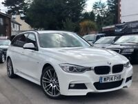 BMW 3 Series 2.0 318d M Sport Touring Full Bmw Service History 1 Owner Sat/Nav Finance Available