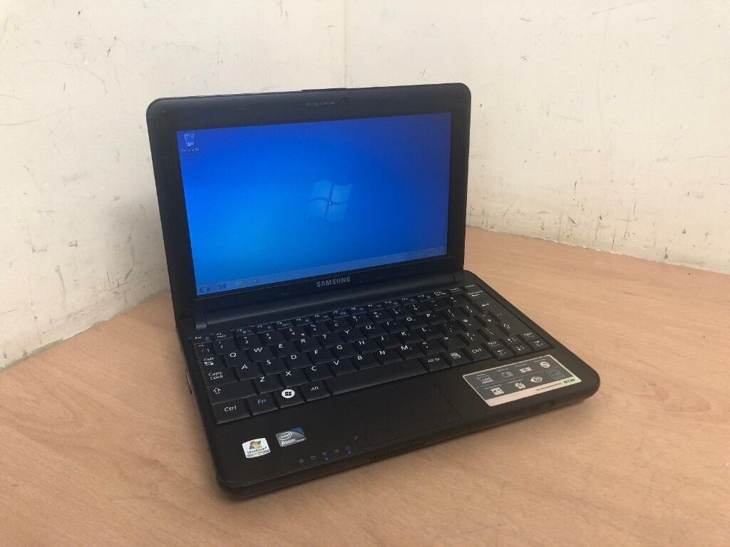 SAMSUNG N130 Notebook 160GB HDD 1GB RAM 1 60GHz Windows 7 WEB CAMERA UK |  in Dulwich, London | Gumtree
