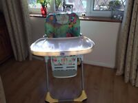 CHICCO HIGHCHAIR 2 IN 1