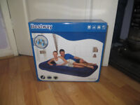 inflatable bed, double inflatable bed with built in pump, Brand New