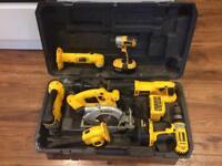 Dewalt 18v XRP cordless kit