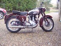 BSA B31 for sale 1955