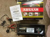 Absaar Car battery Charger with 180A Starter Boost