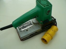 110V HITACHI SANDER (MODEL SOD-110) ROBUST AND POWERFUL