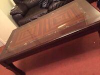 large tea table