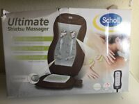 Scholl Shiatsu Back Massager