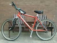 21 speed Saracen trax mountain bike