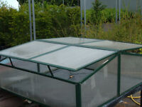 Simplicity Polycarbonate Safety cold frame ideal for plant propagation and protection 9 left