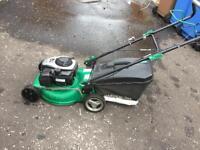 Garden line petrol lawnmower